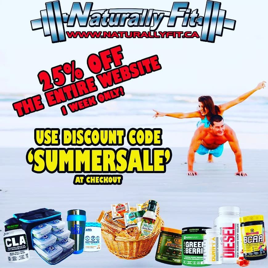25% Off Coupon Code for Naturally Fit