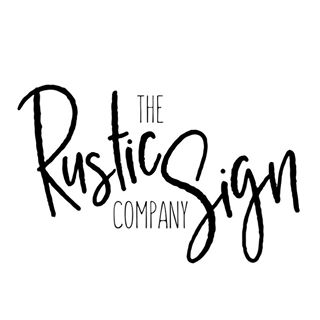 The Rustic Sign Company coupons