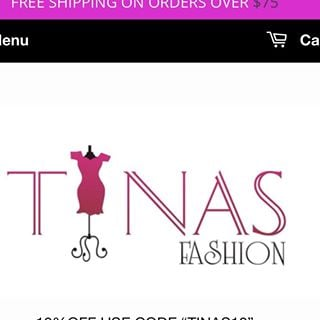 Tinas Fashion coupons